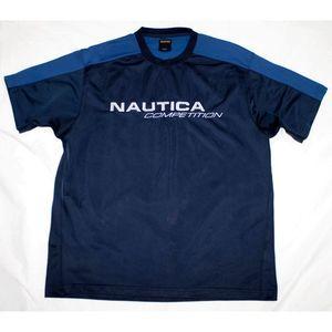 Nautica Competition Short Sleeve Athletic Shirt